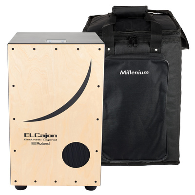 Roland EC-10 EL Cajon & Bag Set