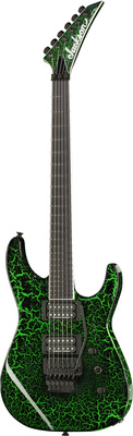 Jackson SL FR Black Green Crackle USA