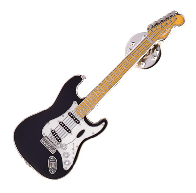 Fender Stratocaster Pin Black