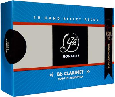 Gonzalez Bb Clarinet Reed FOF Cut 2,75