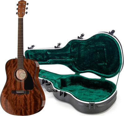 Fender CD-60 All Mahogany Bundle