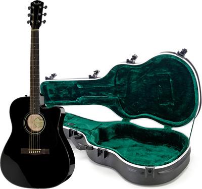 Fender CD-140SCE BK Bundle