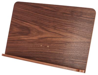 K&M 118 Desk Only Walnut