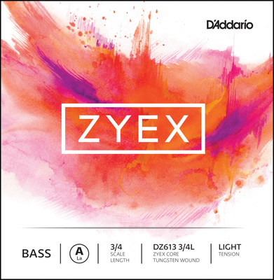 Daddario DZ613-3/4L Zyex Bass A light