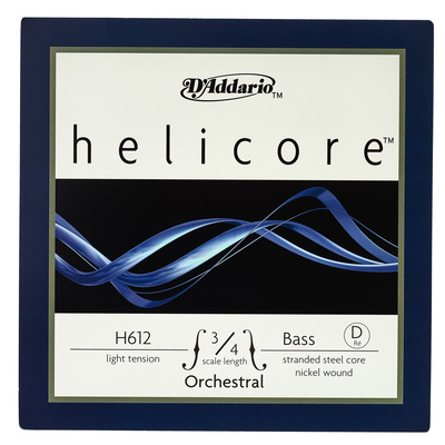 Daddario H612-3/4L Helicore Bass D L
