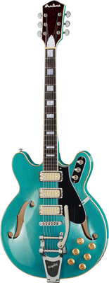 Eastwood Guitars Airline H78 Metallic Blue