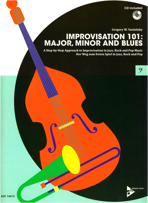 Advance Music Improvisation 101 Bass Clef