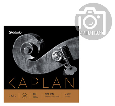 Daddario K613-3/4L Kaplan Bass A light