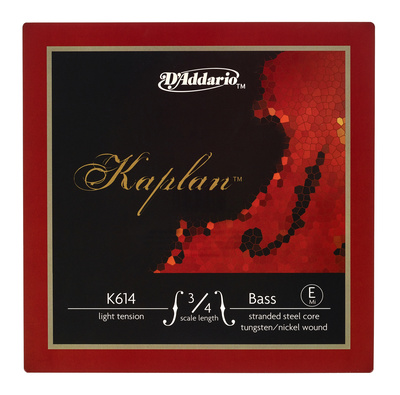 Daddario K614-3/4L Kaplan Bass E light