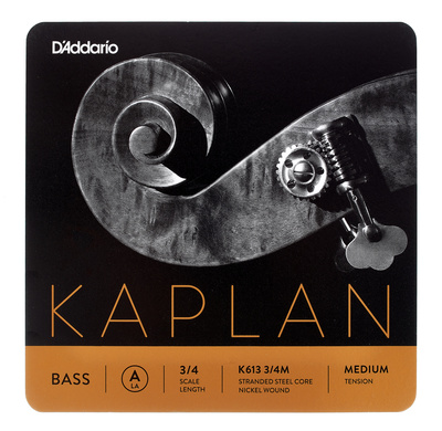 Daddario K613-3/4M Kaplan Bass A med.