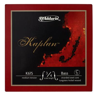 Daddario K615-3/4M Kaplan Bass C Ext.