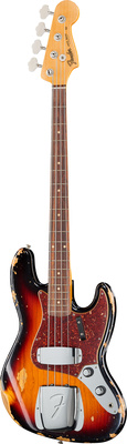 Fender 62 Jazz Bass Heavy Relic 3TSB