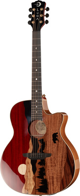 Luna Guitars Vista Bear LTD