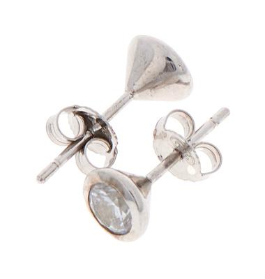 Rockys Silver Stud Earrings 6mm