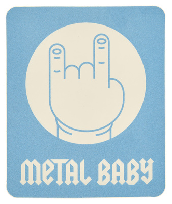 Bandshop Sticker Metal Baby