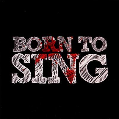 Bandshop Sticker Born To Sing