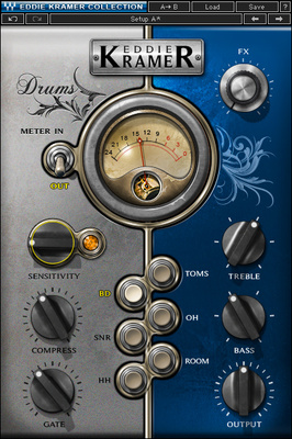Waves Eddie Kramer Drum Channel