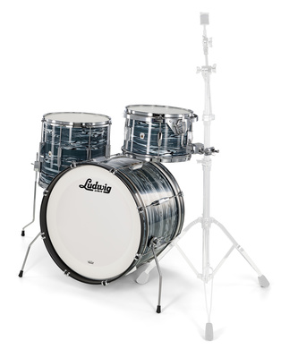 Ludwig Club Date Downbeat Blue Strata