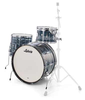 Ludwig Club Date Pro Beat Blue Strata