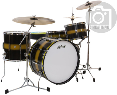 Ludwig Club Date Vint. Downbeat Black