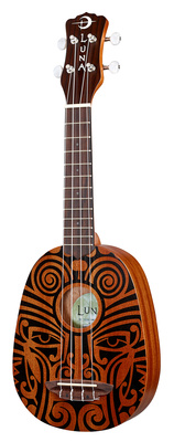 Luna Guitars Uke Tribal Pineapple B-Stock