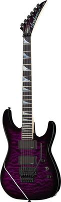 Jackson Dinky DK1 QMT Purpleburst USA