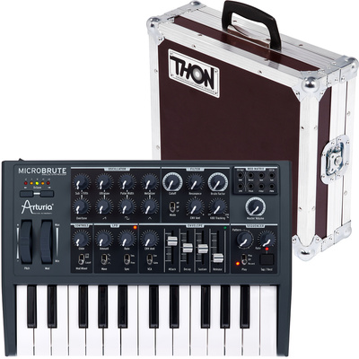 Arturia MicroBrute Case Bundle