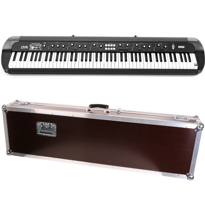Korg SV1 88 black Case Bundle