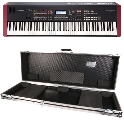 Yamaha MOXF 8 Case Bundle