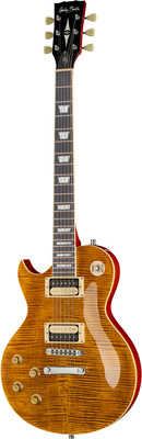 Harley Benton SC-550LH Paradise Amber Flame