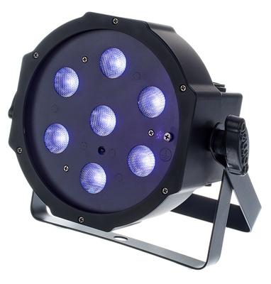 Cameo Flat PAR Can 1 UV 7 x  B-Stock