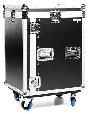 Flyht Pro Case 12U L-Rack Wheels B-Stock