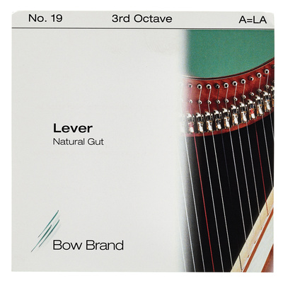 Bow Brand NG 3rd A Gut Harp String No.19