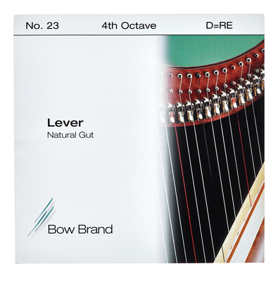 Bow Brand NG 4th D Gut Harp String No.23