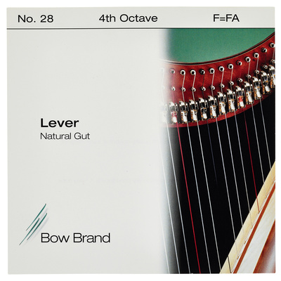Bow Brand NG 4th F Gut Harp String No.28