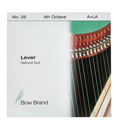 Bow Brand NG 4th A Gut Harp String No.26