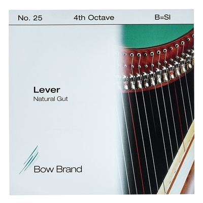 Bow Brand NG 4th B Gut Harp String No.25