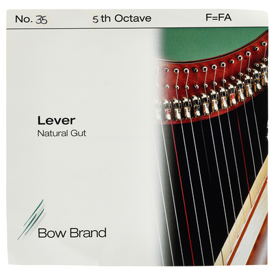 Bow Brand NG 5th F Gut Harp String No.35