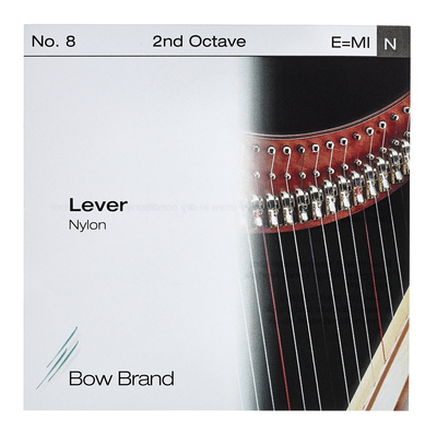 Bow Brand Lever 2nd E Nylon String No.8