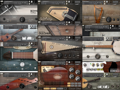 Cinematique Instruments All Strings Bundle