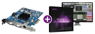 Avid Pro Tools HD native PCIe+Soft