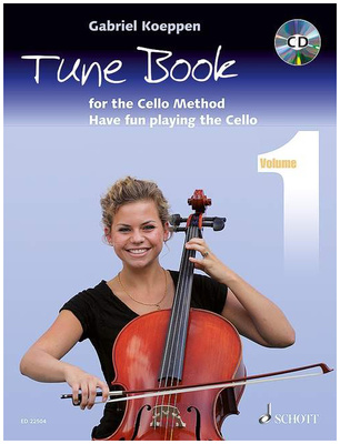 Schott Cello Method Tune Book 1