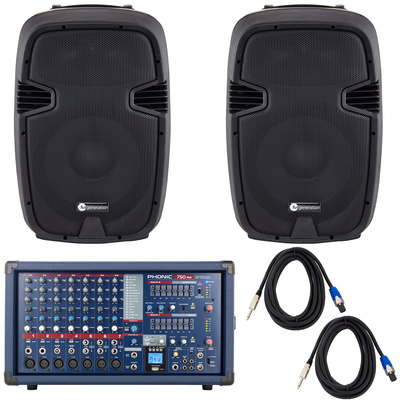 Phonic Powerpod 750RW Bundle
