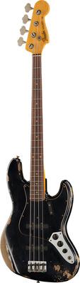 Fender 64 Jazz Bass Heavy Relic BLK