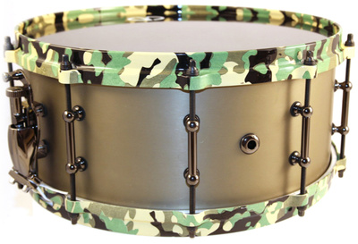 "Colour Your Drum 14""x06"" Alu Snare Camouflage"