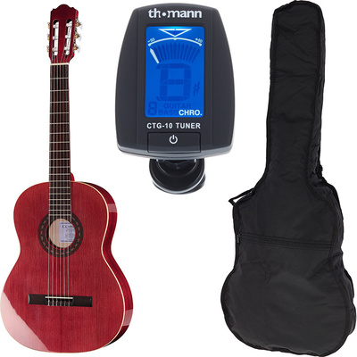 Thomann Classic 4/4 Guitar Wine Bundle