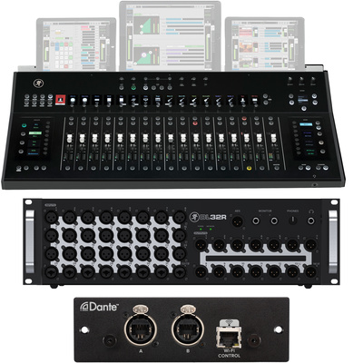 Mackie Axis DC16 Install Bundle