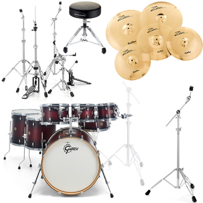 Gretsch Catalina 7-piece Bundle SDCB