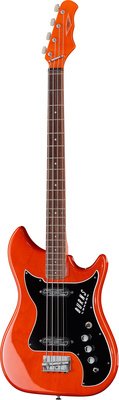 Burns Nu-Sonic Bass Trans Red