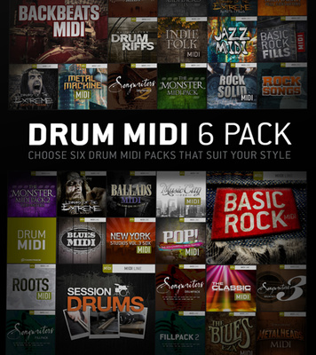 Toontrack midi packs torrent